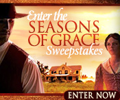Enter the SEASONS OF GRACE Sweepstakes from author Lauraine Snelling!