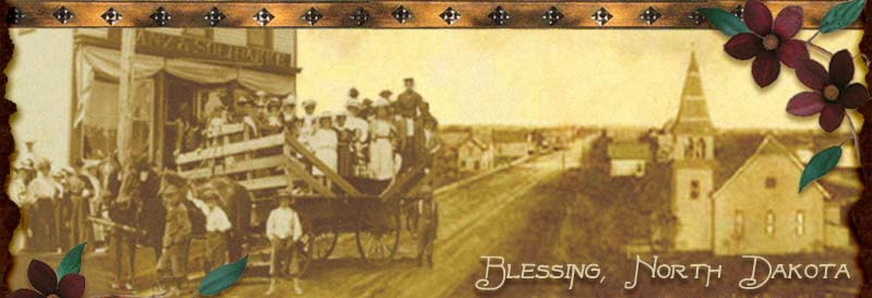 Welcome to Blessing, North Dakota, the fictional town of the Red River, Return to Red River, and Daughters of Blessing novels!
